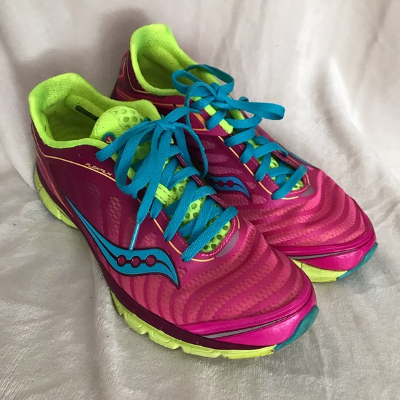 Sneakers – Womens Saucony Ride 9 GreenFluorescent Shoes, Sneakers, Womens